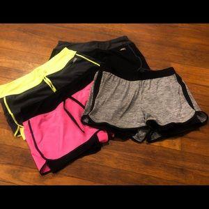 Set of 4 Athletic Shorts